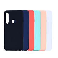 Funda Para Samsung Galaxy A7 (2018) / Galaxy A9(2018) Ultrafina / Congelada Funda Trasera Un Color Suave TPU para A6 (2018) / A6+ (2018) / A7(2018)