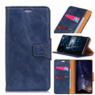 cheap -Nillkin Case For Samsung Galaxy Galaxy S10 / Galaxy S10 Plus Wallet / Card Holder / Shockproof Full Body Cases Solid Colored Hard PU Leather for S9 / S9 Plus / Galaxy S10