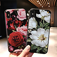 מגן עבור Apple iPhone XR / iPhone XS Max תבנית כיסוי אחורי פרח רך TPU ל iPhone XS / iPhone XR / iPhone XS Max