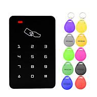 billige -5YOA B09-10KeyTK4100 Adgangskontrolsystem sæt / Adgangskontrol tastatur RFID Adgangskode / ID Kort Hjem / lejlighed / Skole