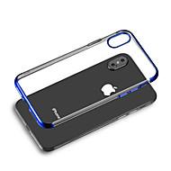 abordables -Coque Pour Apple iPhone 8 / iPhone XS Max Plaqué Coque Transparente Flexible TPU pour iPhone XS / iPhone XR / iPhone XS Max