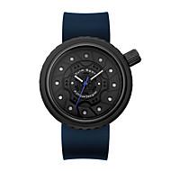 Χαμηλού Κόστους -Oulm Ανδρικά Αθλητικό Ρολόι Ιαπωνικά Χαλαζίας σιλικόνη Μαύρο / Μπλε 30 m Ανθεκτικό στο Νερό Δημιουργικό Απίθανο Αναλογικό Νέα άφιξη Μοντέρνα - Μαύρο / Κόκκινο Μαύρο / Μπλε / Ενας χρόνος