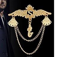 ieftine -Bărbați Pentru femei Franjuri Broșe Vultur European Broșă Bijuterii Auriu Argintiu Pentru Zilnic