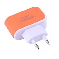 זול -מטען נייד מטען USB EU מחבר נורמלי 3חיבוריUSB 3.1 A DC 5V ל אוניברסלי