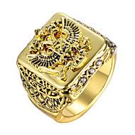 זול -בגדי ריקוד גברים טבעת Fashion Ring תכשיטים זהב / כסף עבור מתנה יומי