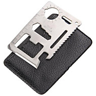 ราคาถูก -1 ชิ้น เครื่องมือและอุปกรณ์ Portable / มัลติ-ฟังก์ชั่น สำหรับ Portable / มัลติ-ฟังก์ชั่น สแตนเลส - สีเงิน