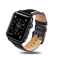 abordables -Bracelet de Montre  pour Apple Watch Series 4/3/2/1 Apple Boucle Classique Vrai Cuir Sangle de Poignet