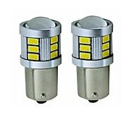 billiga -SENCART 2pcs BA15S(1156) / BAY15D(1170) Motorcykel / Bilar Glödlampor 5 W SMD 5630 450 lm 18 LED Blinkers / Baklykta / Bromsljus Till Universell