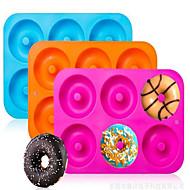 billige -1pc Silikongel GDS Kake Rektangulær Cake Moulds Bakeware verktøy
