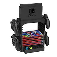 Kits de suporte / suporte de manípulo para nintendo switch, kits de suportes criativos / suporte de pega em pvc (policloreto de vinilo) 1 unid.