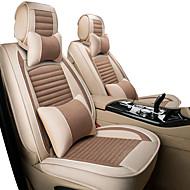 tanie -pięć siedzeń / ogólne silniki pokrycie siedzenia / poduszka samochodowa tkanina z tkaniny wszystkie obicia lniane komplet siedzeń zimowych nowy ładny lodowy jedwab specjalny zestaw czterech siedzeń