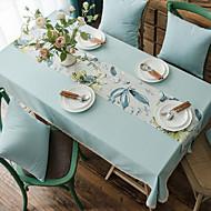 billige -Klassisk polyesterfiber Kvadrat Duge Ensfarvet Borddekorationer