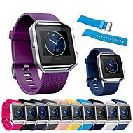tanie -bransoletka sportowa opaska na nadgarstek silikonowy pasek na rękę bransoletka do zegarków fitbit sprytny zegarek
