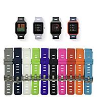 tanie -Watch Band na Huami Amazfit Bip Younth Watch Xiaomi Pasek sportowy Silikon Opaska na nadgarstek