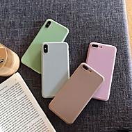 Etui Käyttötarkoitus Apple iPhone XS Max / iPhone 6 Iskunkestävä Takakuori Yhtenäinen Pehmeä Silikoni varten iPhone XS / iPhone XR / iPhone XS Max