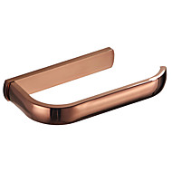 cheap -Rose gold Toilet Paper Holder New Design Modern / Contemporary Brass 1pc - Bathroom / Hotel bath Wall Mounted