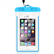 ราคาถูก -Case สำหรับ Apple Universal Waterproof / Glow in the Dark / Dustproof Waterproof Pouch โปร่งใส Soft PVC สำหรับ Universal