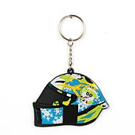 olcso -mini motorkerékpár kulcstartó divat design gumi kulcstartó medál kulcsfontosságú díszítéshez