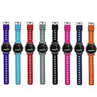 tanie -pasek na nadgarstek do zegarka na rękę z silikonową opaską sportową dla garmin vivoactive 3 / forerunner 645 / vivomove hr / forerunner 245 m inteligentny zegarek