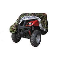 halpa -kaikki sää ATV kattaa kestävä vedenpitävä tuulenpitävä uv suojaus buginen varastointi yleiskäyttöön naamiointi
