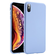abordables -Coque Pour Apple iPhone XS / iPhone XR / iPhone XS Max Antichoc Coque Couleur Pleine Flexible Silicone