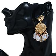 abordables -Boucles d'Oreille Femme Coquillage Bagues Tendance Bijoux Dorée pour Soirée Quotidien Plein Air Vacances Festival 1 paire