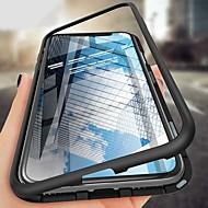 ieftine -Maska Pentru Apple iPhone XS / iPhone XR / iPhone XS Max Anti Șoc / Ultra subțire / Magnetic Carcasă Telefon Mată Greu Sticlă Temperată / MetalPistol