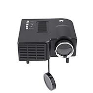 お買い得  -uc28ユニバーサル400ルーメンhd 400ルーメンマルチメディアled家庭用プロジェクターサポート60インチ大画面投影