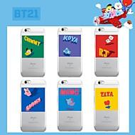 halpa -Apple iPhone 6 / iphone 8 plus plus takakansi piirretty pehmeä tpu iPhone se / 5s / iPhone 6 / iphone 6 plus