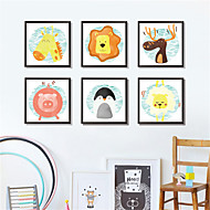 cheap -Decorative Wall Stickers - Plane Wall Stickers Animals / Nautical Bedroom / Indoor