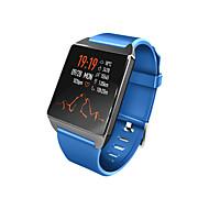 お買い得  -W2スマートブレスレット男性女性防水スマート腕時計血圧心拍数モニターフィットネストラッカースマートリストバンド