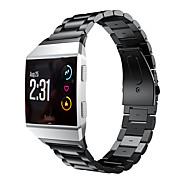 billige -Urrem for Fitbit ionic Fitbit Forretningsbånd Rustfrit stål Håndledsrem