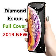 povoljno -dijamantno zaštitno kaljeno staklo na iphone xs xr x 10 staklenoj zaštitnoj ploči za zaštitu zaslona rub zakrivljen za iphone xr xs max