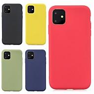 ieftine -carcasă pentru apple iphone 11 / iphone 11 pro / iphone 11 pro max ultra-subțire / spălați acoperire din spate solid tpu moale