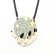 ieftine -Pentru femei Coliere cu Pandativ Minge mâini Declarație Teracotă Auriu 50 cm Coliere Bijuterii 1 buc Pentru Halloween