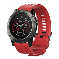 billige -smartwatch band til garmin fenix 5s / fenix 5s quickfit / fenix 5s plus garmin sport band silikon håndledsrem