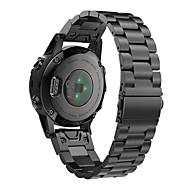 ieftine -bandă smartwatch pentru fenix6s / fenix6s pro garmin cataramă clasică din oțel inoxidabil cu curea