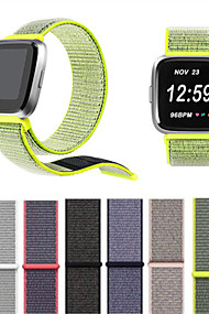 tanie -Watch Band na Fitbit Versa Fitbit Nowoczesna klamra Nylon Opaska na nadgarstek