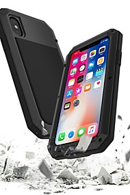 cheap -Case For Apple iPhone 8 / iPhone 7 Waterproof / Shockproof Full Body Cases Armor Hard Metal for iPhone XS / iPhone XR / iPhone XS Max