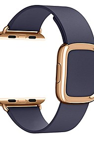 cheap -Watch Band for Apple Watch Series 4 / Apple Watch Series 4/3/2/1 Apple Modern Buckle Genuine Leather Wrist Strap