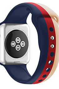 cheap -Watch Band for Apple Watch Series 4/3/2/1 Apple Sport Band Silicone Wrist Strap