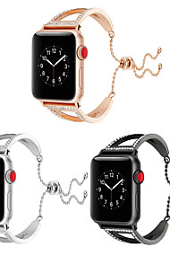 cheap -Watch Band for Apple Watch Series 4/3/2/1 Apple Jewelry Design Metal Wrist Strap