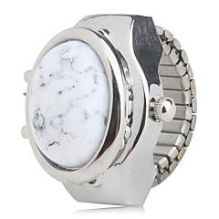 preiswerte Damenuhren-Damen Ringuhr Japanisch Armbanduhren für den Alltag Legierung Band Charme / Modisch Silber