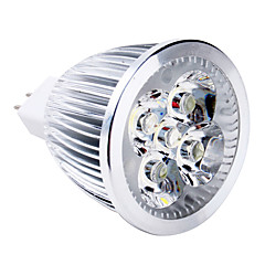 voordelige LED & Verlichting-5W 400-500lm GU5.3 (MR16) LED-spotlampen MR16 5 LED-kralen Krachtige LED Warm wit 12V