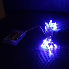 お買い得  LED ストリングライト-3M ストリングライト 30 LED Dip LED ブルー / #