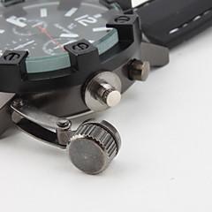 V6 Ανδρικά Στρατιωτικό Ρολόι Χαλαζίας Γιαπωνέζικο Quartz σιλικόνη Μπάντα Μαύρο