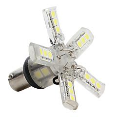 preiswerte LED Autobirnen-1156 5050 SMD LED 2,16 W 30-120lm weiß Glühbirne für Auto (DC 12V)