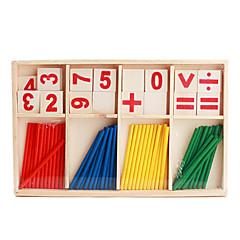 abordables Juguetes de la matemáticas-Juguetes Divertido Madera Clásico Piezas Niños Regalo