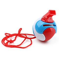 silbato con forma de pelota de juguete