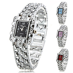 cheap Bracelet Watches-Women's Watch Fashionable Silver Alloy Bracelet Cool Watches Unique Watches Strap Watch